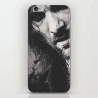 aragorn iPhone & iPod Skins featuring Aragorn by Alba Palacio