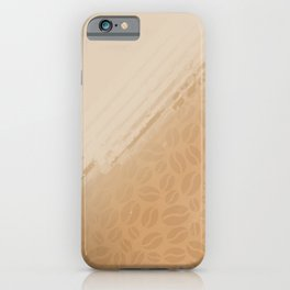 Coffee and nothing more iPhone Case