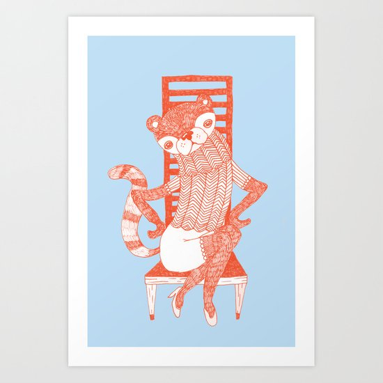 BEAR-CAT Art Print
