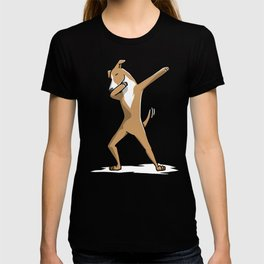 Funny Dabbing Greyhound Dog Dab Dance T-shirt