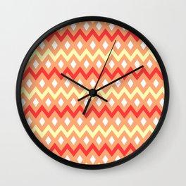 Jager Sunset; Wall Clock
