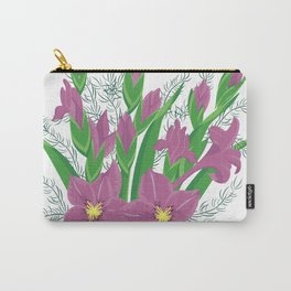 Bouquet of lilac gladioluses Carry-All Pouch