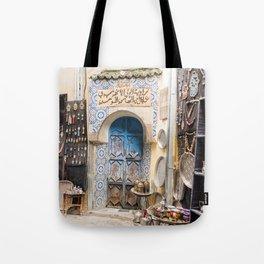 Doorway - Fes Ancient Medina Tote Bag