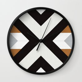 Abstract pattern XII Wall Clock