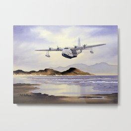 Short Sunderland Aircraft Metal Print