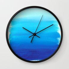 Blues No. 1 Wall Clock