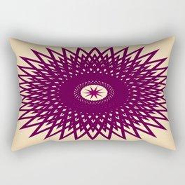 Grape Flavored Starburst Rectangular Pillow