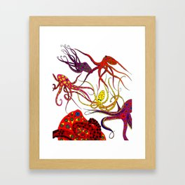 Consortium of Octopi Framed Art Print