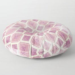 Square Rooms Floor Pillow