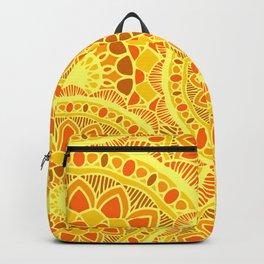 sun flower summer Backpack
