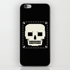 grrr skull. iPhone & iPod Skin