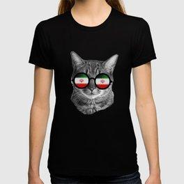 Funny Cat T Shirt - Iran T-shirt