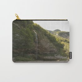 A small waterfall in the mountains #2 Carry-All Pouch