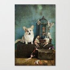 The TJ Hefner Mansion Canvas Print