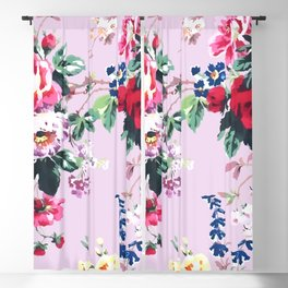 Bouquets with roses 2 Blackout Curtain