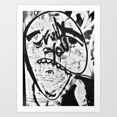 Don't Be Sad Art Print