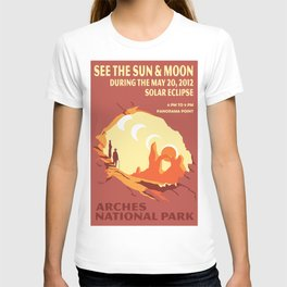 Vintage poster - Arches National Park T-shirt
