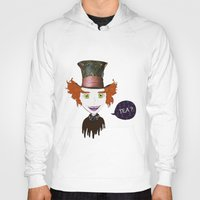 mad hatter Hoodies featuring Mad Hatter by Lourenço Santos
