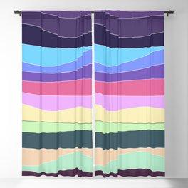 Modern Sunset Blackout Curtain