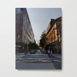 Manhattan . Metal Print