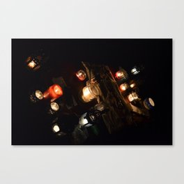 A Little Candelight Canvas Print