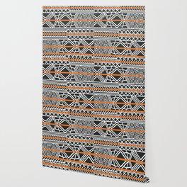 Tribal ethnic geometric pattern 022 Wallpaper