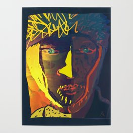 Van Gogh by Menchulica Poster