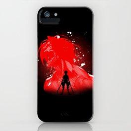 Attack Silhouette iPhone Case