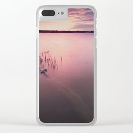 Staples Lake Clear iPhone Case