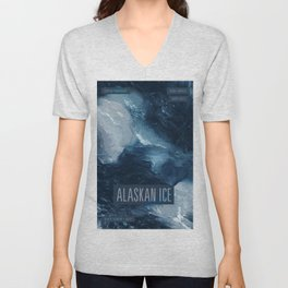 Alaskan Ice Unisex V-Neck