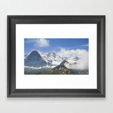 Swiss Bliss Framed Art Print