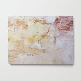 abstract softly Metal Print