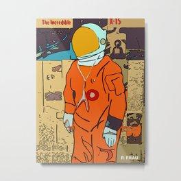 Reaching Space Metal Print