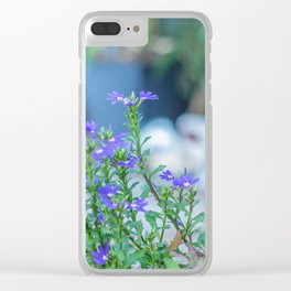 Fall time bloom Clear iPhone Case