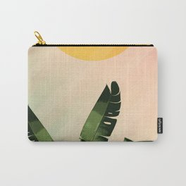 Sunny heliconia Carry-All Pouch