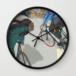 City traveller Wall Clock
