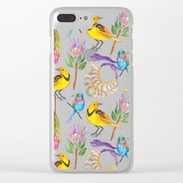 Wild Africa #1 Clear iPhone Case