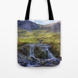 Lake Idwal Stream Tote Bag