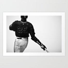 Barry Bonds I Art Print