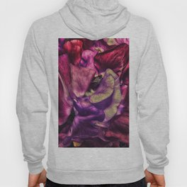 A Vivid Tapestry of Sweetpeas Hoody