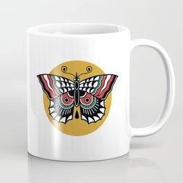 Butterfly Classic Tattoo Flash Coffee Mug