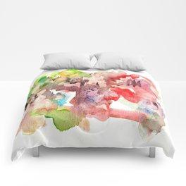 Watercolor fantastic ing 55 Comforters