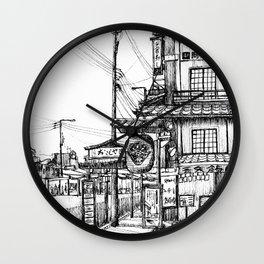 Kyoto Street Wall Clock