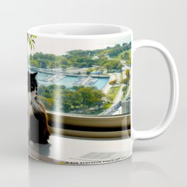 Contemplating Cat (Gracie Queen of Chicago Collection) Coffee Mug