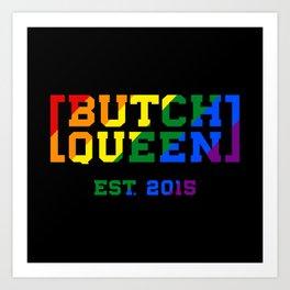 Rainbow BQ Logo Art Print