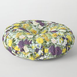 Floral C Floor Pillow