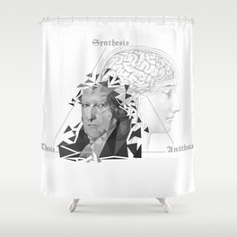 The Legacy of Hegel Shower Curtain