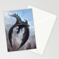 Dragon rider Stationery Cards