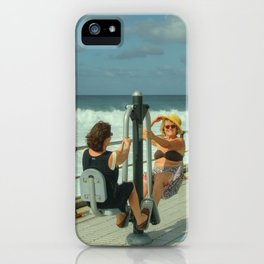 Canarian Exercise iPhone Case