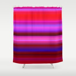 Re-Created Spectrum X by Robert S. Lee Shower Curtain